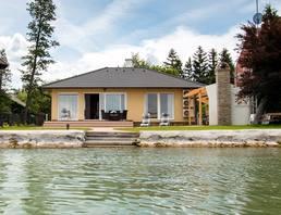 Ferienhaus Neu gebautes Ferienhaus mit eigenem Seezugang
